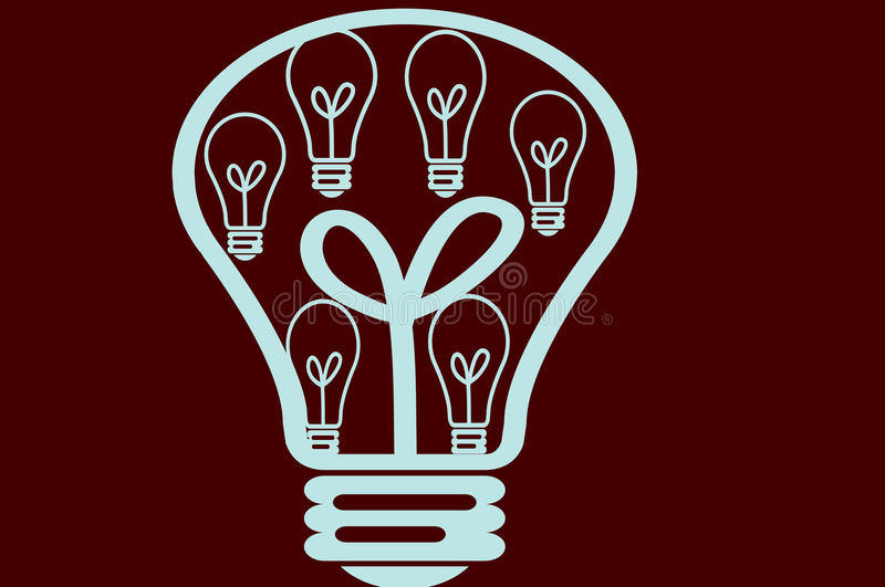 Download Colorful bulb stock image. Image of filment, darkness - 34244707