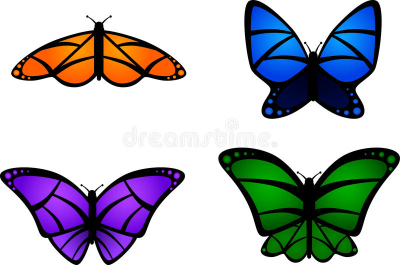 Download Colorful Butterflies Royalty Free Stock Photos - Image: 13399168