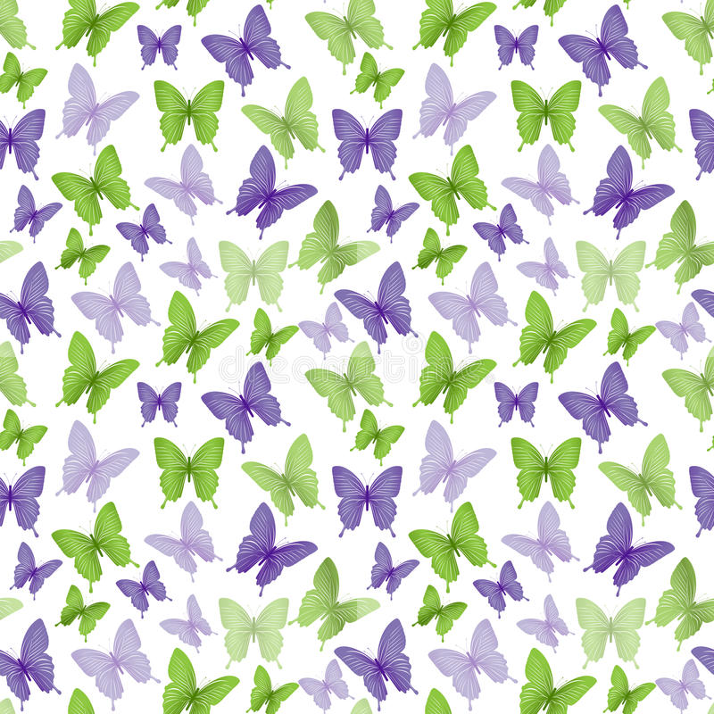 Free Colorful Butterflies Seamless Pattern Royalty Free Stock Photo - 50618445
