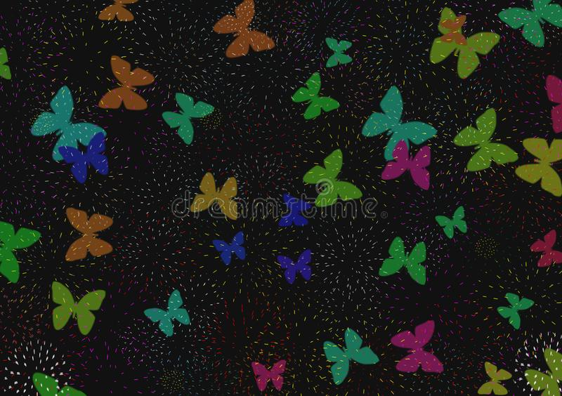 Butterfly Wallpaper Stock Illustrations 42311 Butterfly