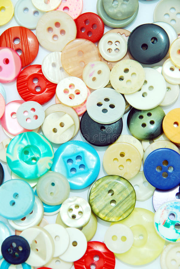 Download Colorful buttons stock image. Image of many, attach, needle - 12770245