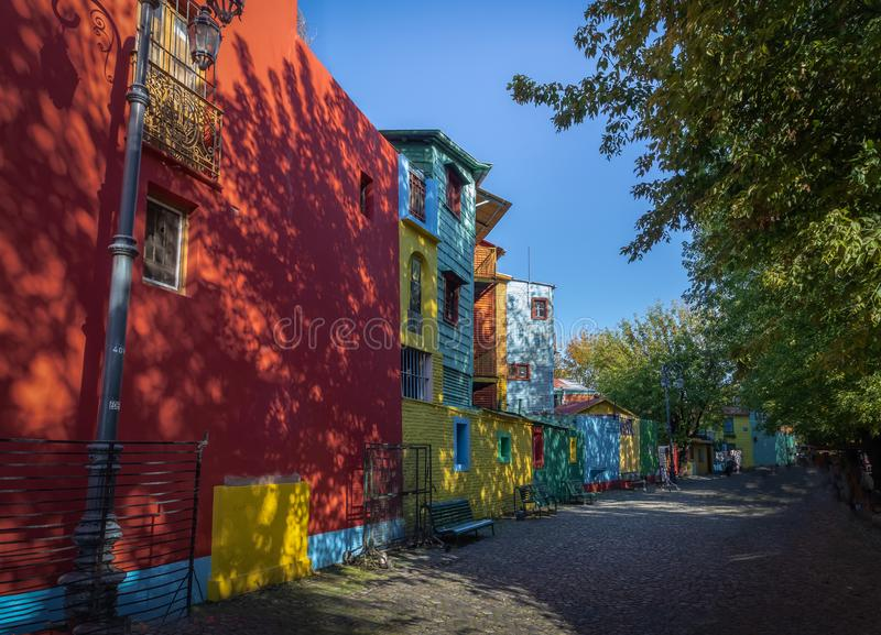Colorful Caminito Street in La Boca neighborhood - Buenos Aires, Argentina. Colorful Caminito Street in La Boca neighborhood in Buenos Aires, Argentina stock images