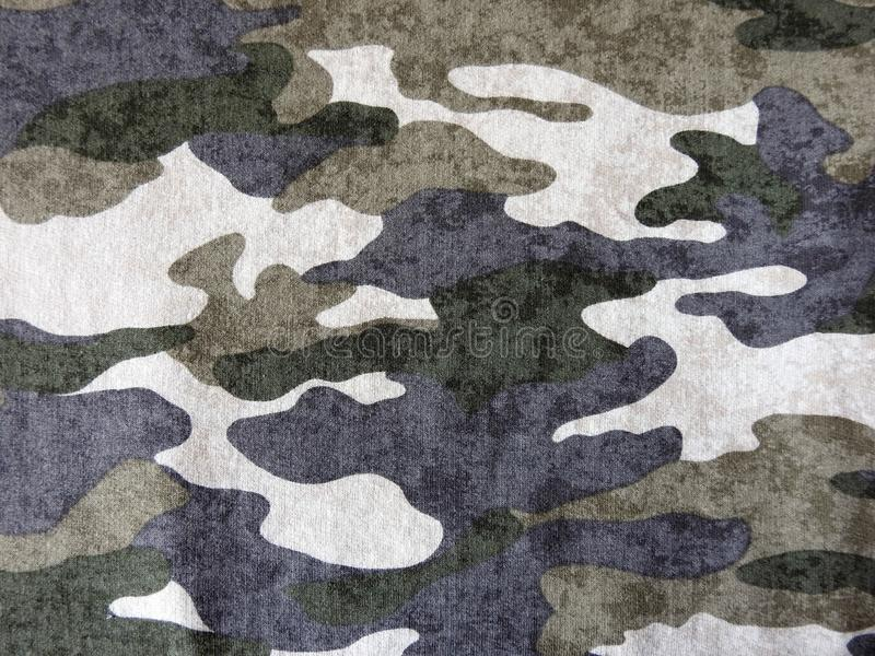 Colorful camouflage fabric, can use as background stock images