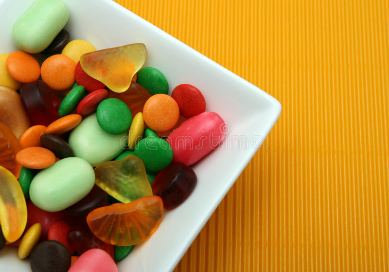 Download Colorful candies stock photo. Image of brown, backdrop - 7220342