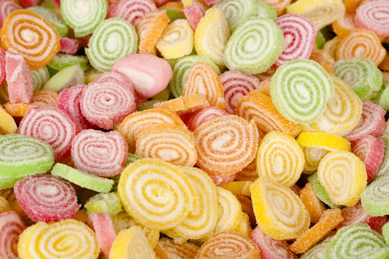 Download Colorful Candy With Sugar On Top Stock Photo - Image: 17439854