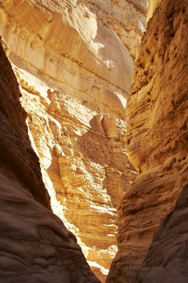 Download Colorful canyon in Egypt stock image. Image of egypt, orange - 1765209