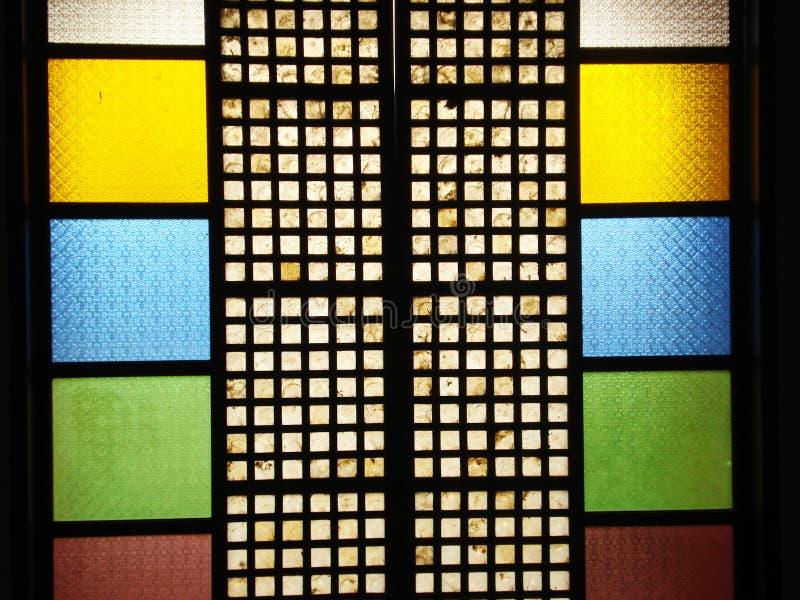 Colorful capiz window stock photo image of philippines for Capiz window