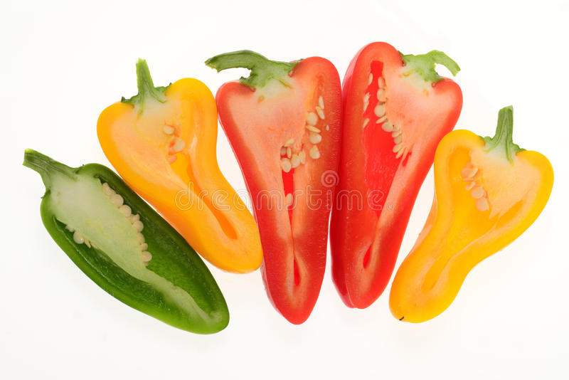 Download Colorful Capsicum, Pepper stock photo. Image of harvest - 32533188