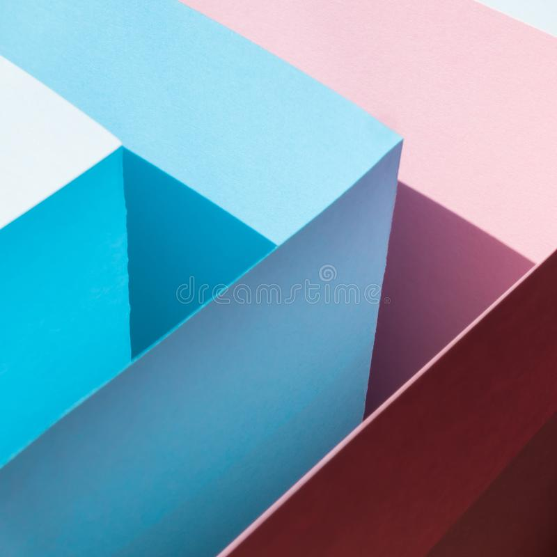 Colorful card paper royalty free stock image