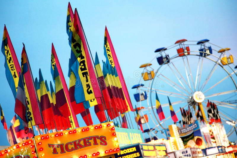 Colorful Carnival royalty free stock photography