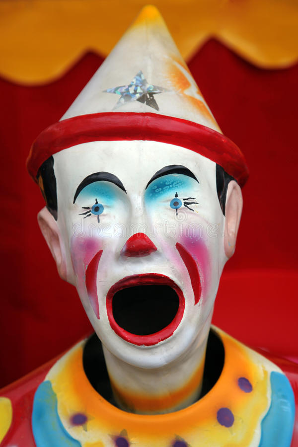 Colorful Carnival Clown Stock Photography Image 13755752