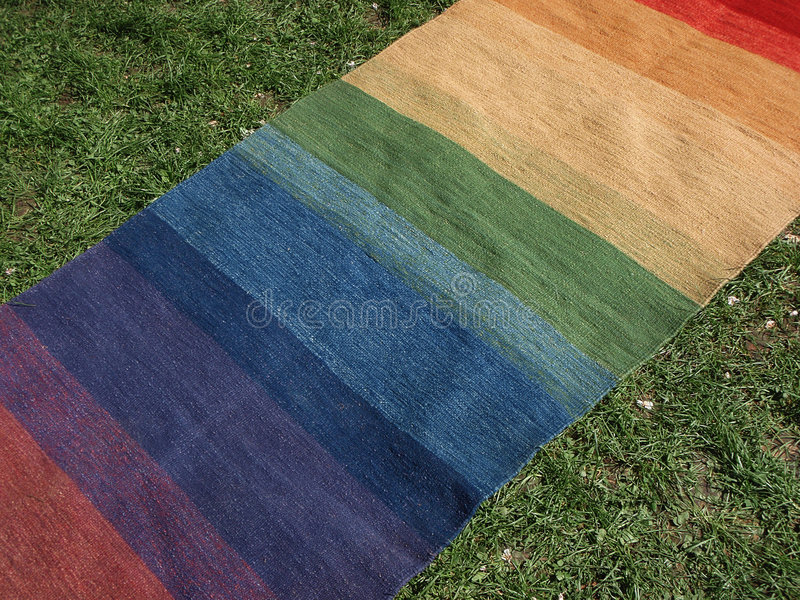 Colorful carpet royalty free stock photos