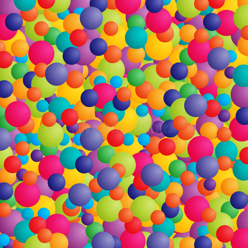 Colorful celebration. Abstract background with balls or balloons in bright colors vector illustration
