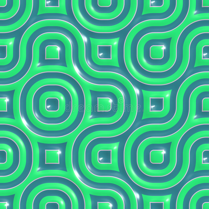 Colorful ceramic patterns stock illustration