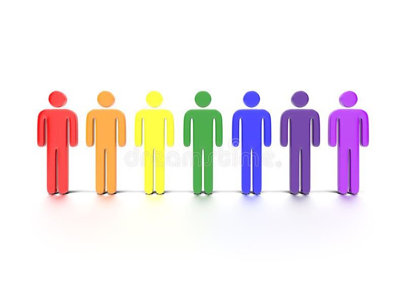 Download Colorful Characters Royalty Free Stock Photography - Image: 32338937