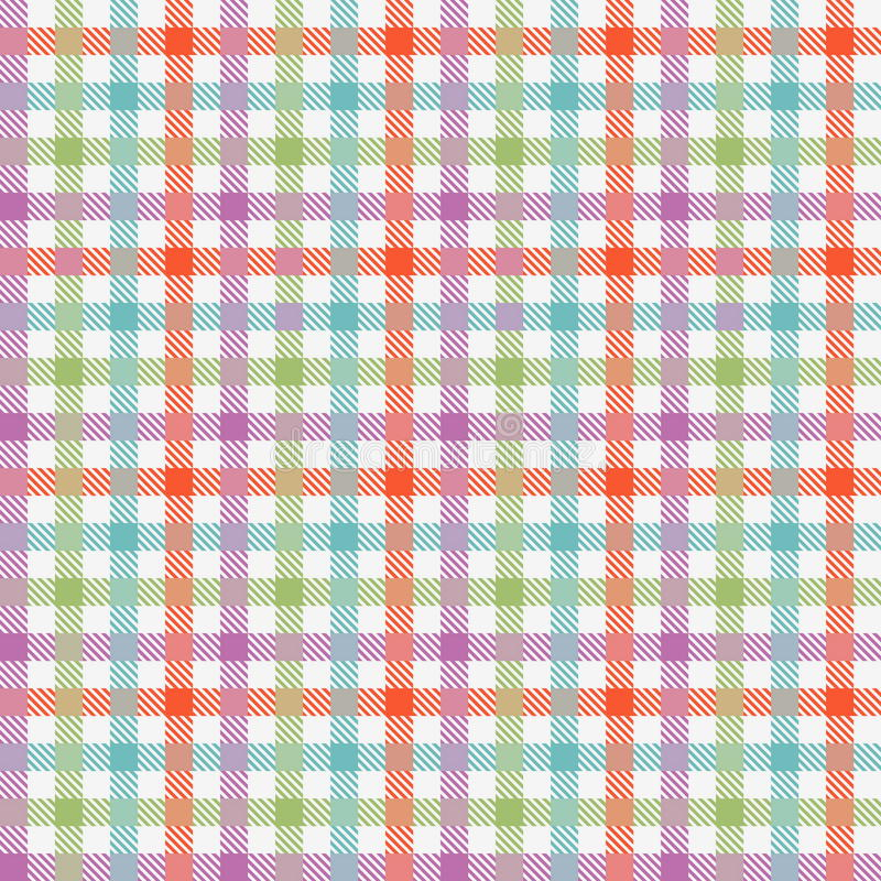 Download Colorful Checkered Tablecloths Pattern Stock Vector   Image:  67577441