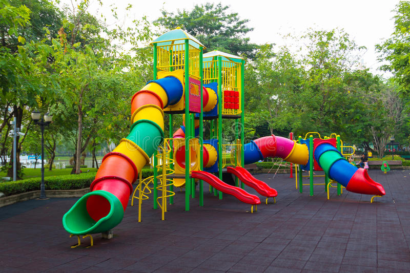 Download Colorful Children Playground Stock Photo - Image: 33553290