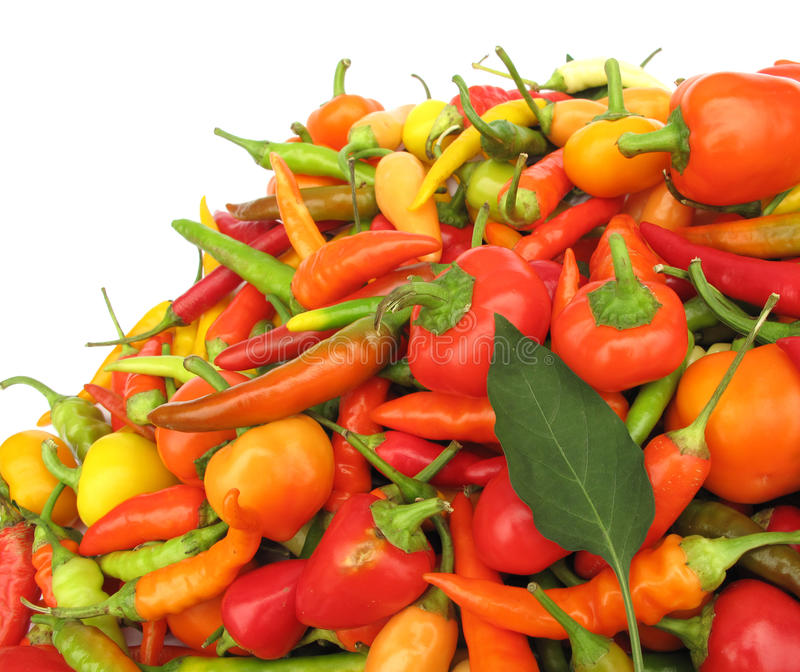 Download Colorful Chili Peppers Stock Photos - Image: 10776403