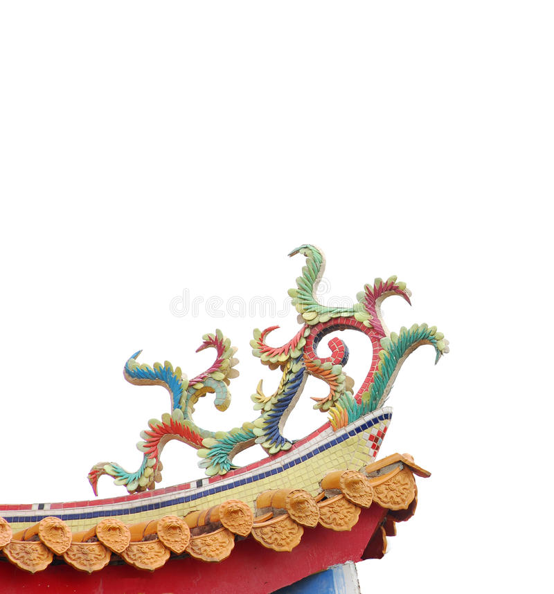 Download Colorful Chinese Decoration On Temple Roof. Stock Photography - Image: 12767352