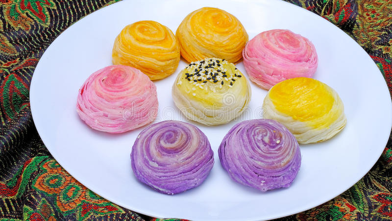 chinese pastry royalty free stock image