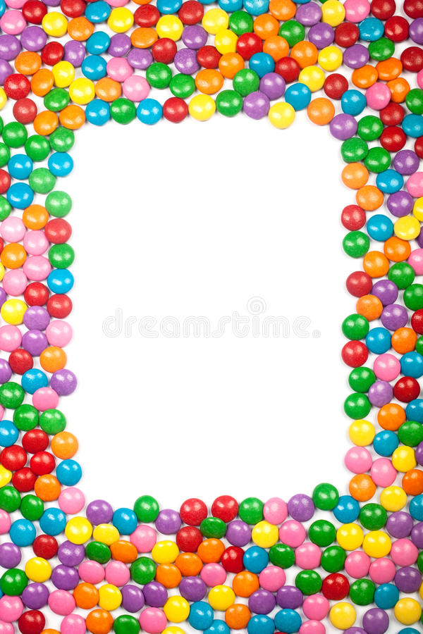Download Colorful Chocolate Candy Frame Stock Image - Image: 16100299