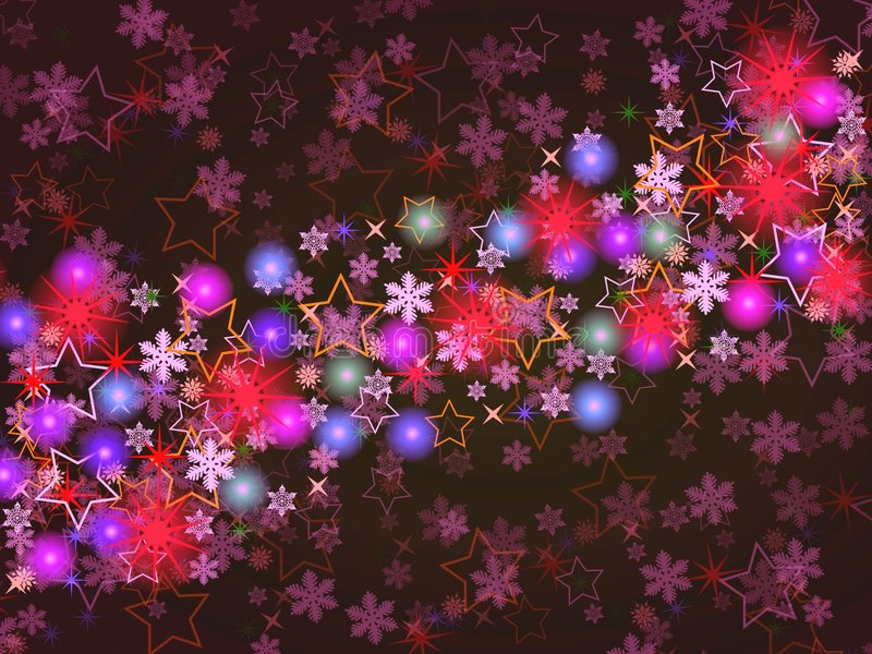 Download Colorful Christmas Background Stock Illustration - Image: 6726686