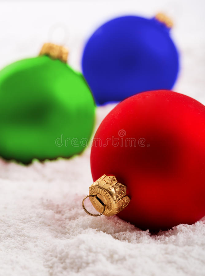 Download Colorful Christmas Baubles Royalty Free Stock Images - Image: 26654999