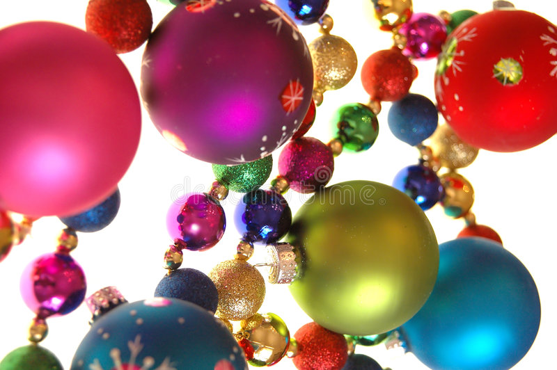Download Colorful Christmas Decorations Stock Photo - Image: 1451120