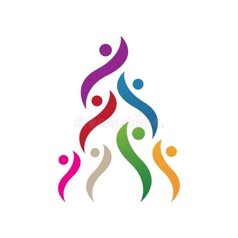 Unity Symbol With Idea Concept Stock Vector - Illustration ...
