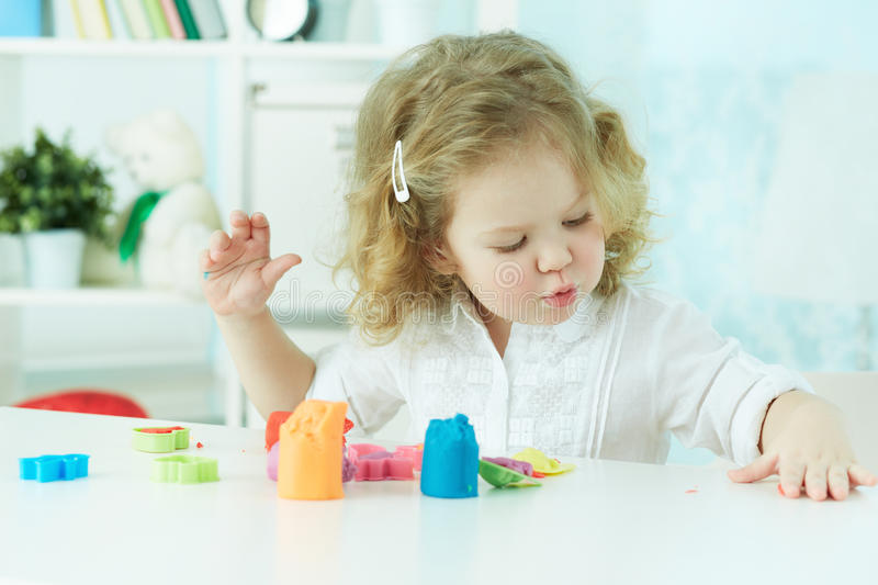 Download Colorful clay stock photo. Image of enjoying, curly, activity - 33379844