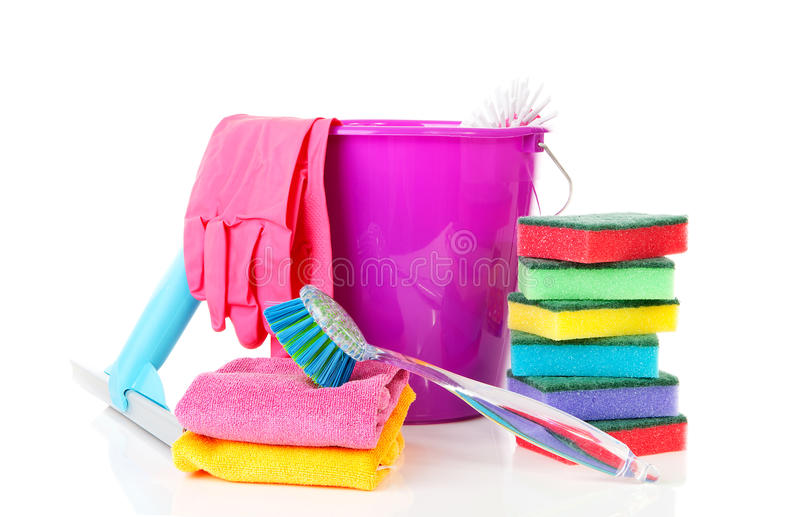 Download Colorful Cleaning Equipment Stock Photo - Image: 21640288