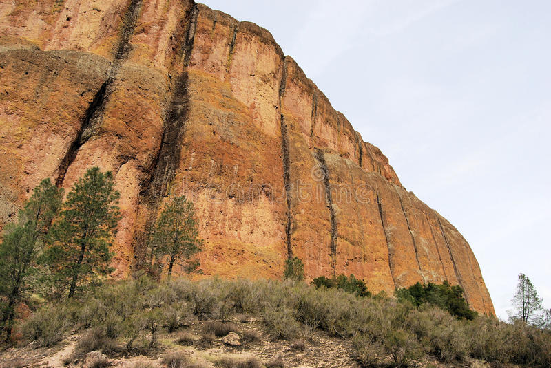 Colorful Cliff Face royalty free stock photography
