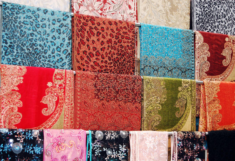 Download Colorful cloth stock photo. Image of clothes, brown, close - 24924614