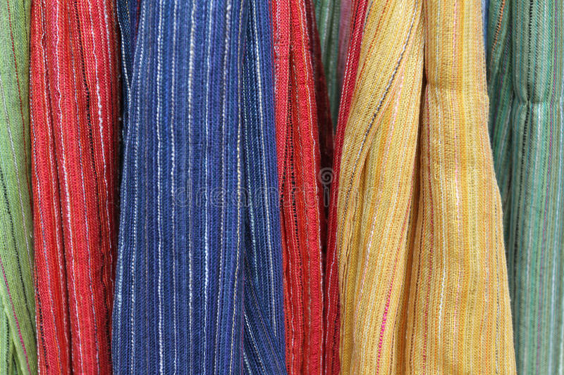 Colorful cloth royalty free stock photos