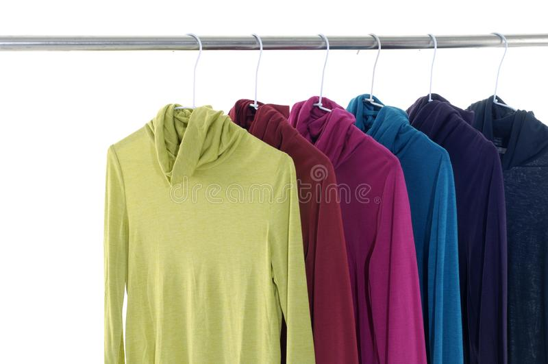 Colorful clothing royalty free stock photography