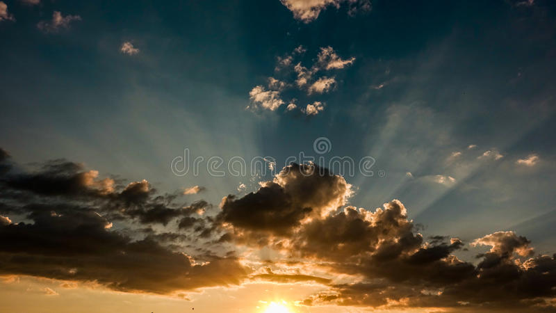 Download Colorful cloudy sky stock photo. Image of light, romantic - 98227486