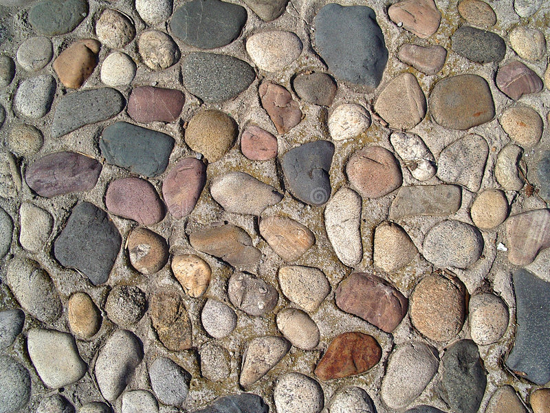 Download Colorful cobblestone stock image. Image of rock, alley, decoration - 2373