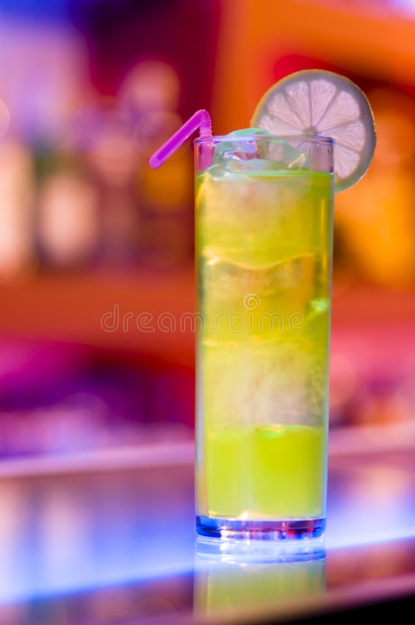 Colorful cocktail royalty free stock photos