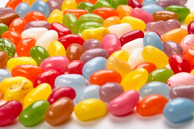 Colorful world of candy stock photography