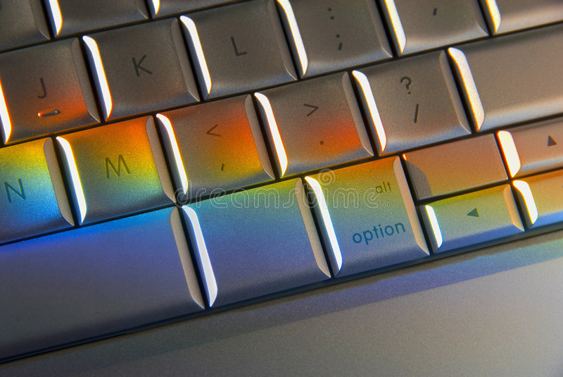 Download Colorful Computer Keyboard Technology Stock Image - Image: 5235113