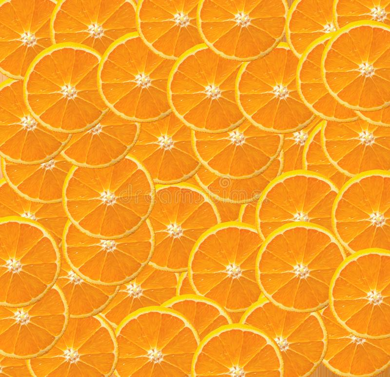 Orange slice background. Colorful concept of orange slices royalty free stock images