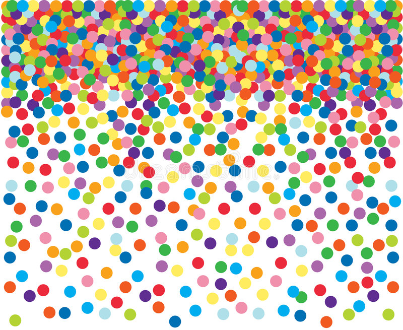 Download Colorful Confetti Background. Stock Vector - Image: 6492162