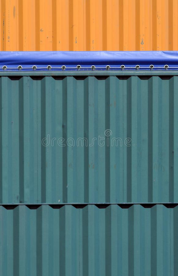 Download Colorful containers stock image. Image of cargo, detail - 2414295