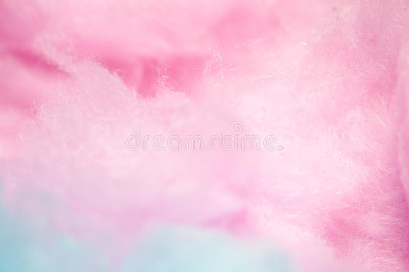 Colorful cotton candy in soft color for background stock image
