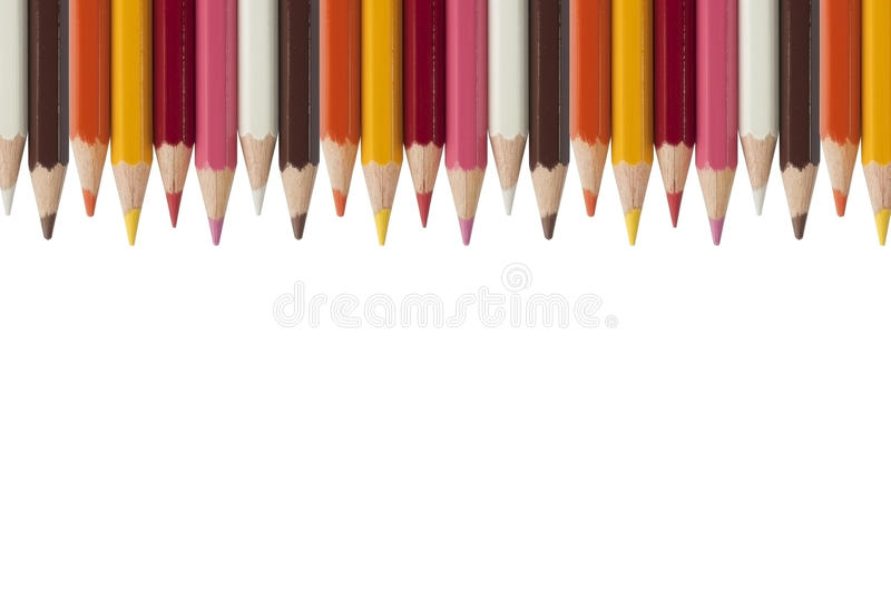 Download Colorful Crayon As White Background Stock Image - Image of colour, artistic: 16528997