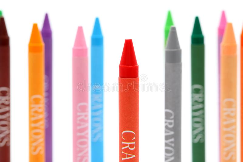 Download Colorful crayons stock photo. Image of grow, group, kindergarten - 18264006