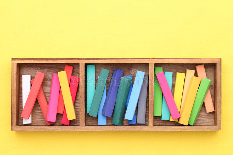 Download Colorful crayons stock photo. Image of nobody, creative - 24690548