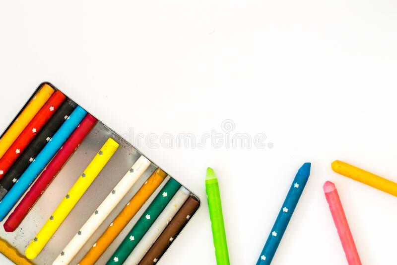Colorful Crayons Free Public Domain Cc0 Image