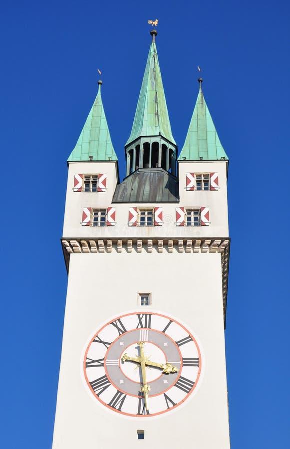 Tower in Straubing, Bavaria