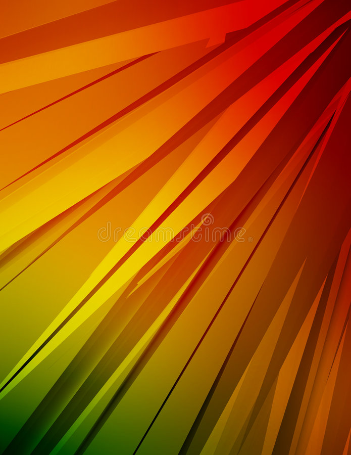 Colorful Crystals royalty free illustration